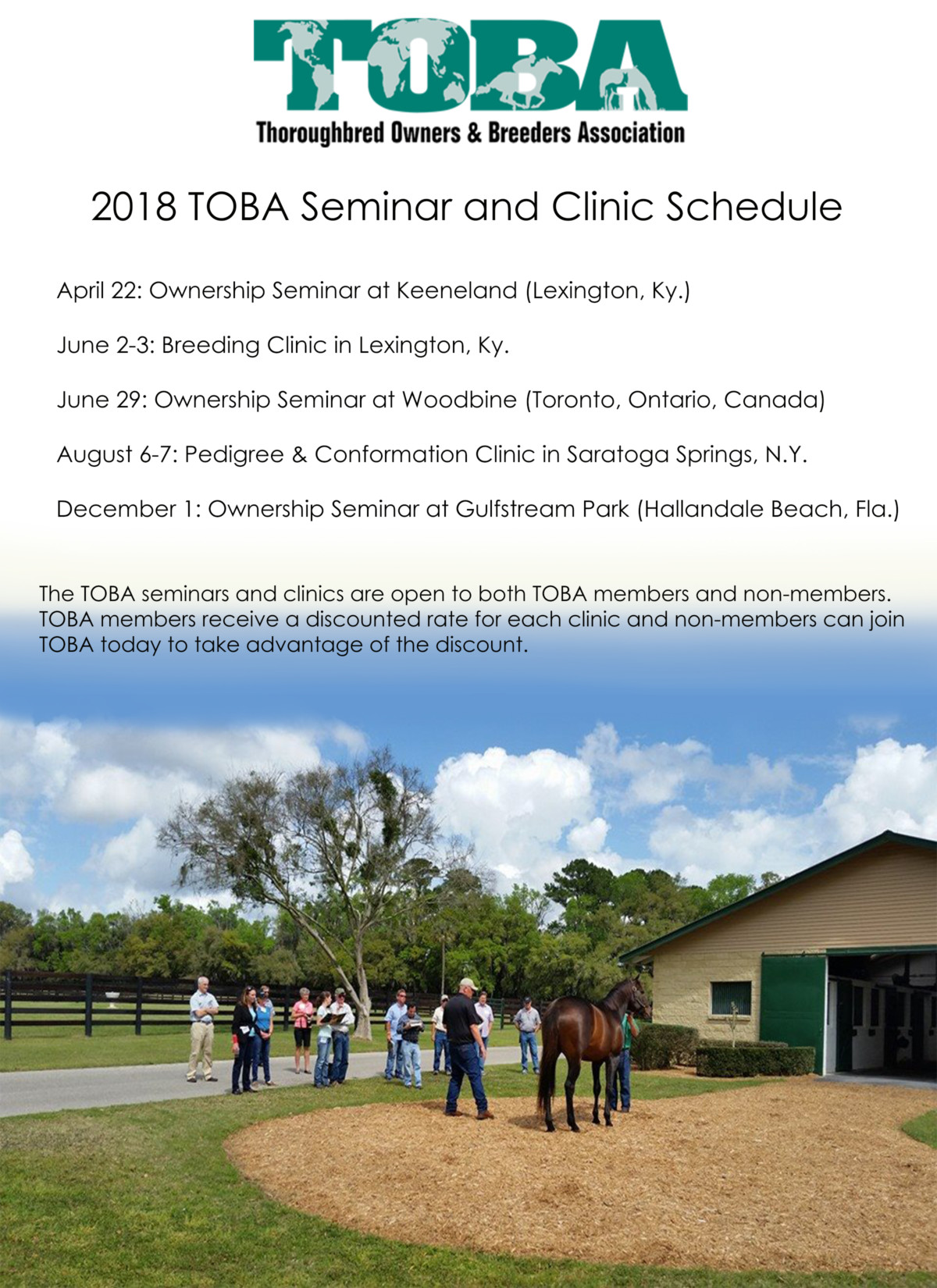 Toba Thoroughbred Owners And Breeders Association
