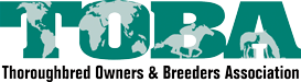 Thoroughbred Owners and Breeders Association Retina Logo